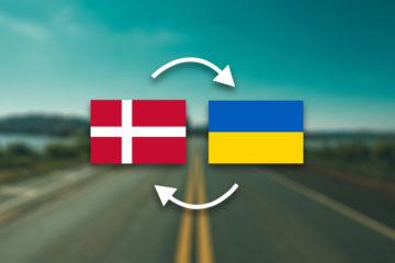 Грузоперевозки Дания — Украина