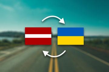 Грузоперевозки Латвия — Украина
