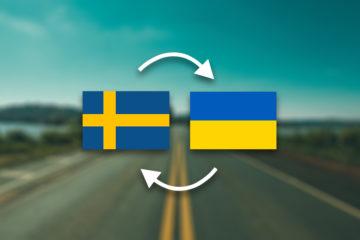 Грузоперевозки Швеция — Украина