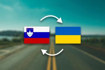 Грузоперевозки Словения — Украина